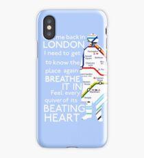 London Underground Map Sherlock iPhone Case/Skin