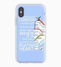 London Underground Map Sherlock iPhone Case