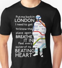 London Underground Map Sherlock T-Shirt