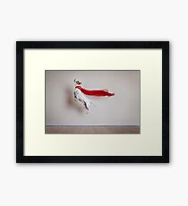 Super Dog Framed Print