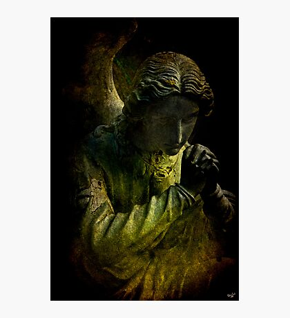 Lament of the Church Guardian Photographic Print