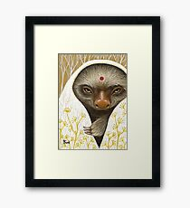 Medicine Sloth Framed Print