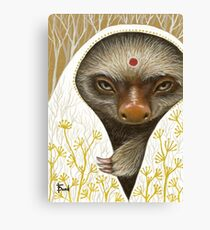 Medicine Sloth Canvas Print