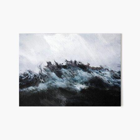 Ocean of Grief Art Board Print