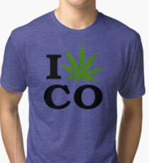 I Marijuana Colorado Tri-blend T-Shirt