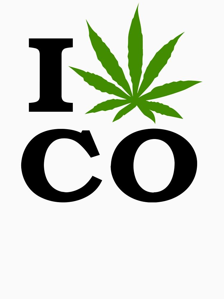 I Marijuana Colorado | Unisex T-Shirt