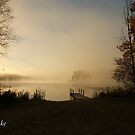 Misty Lake by JpPhotos
