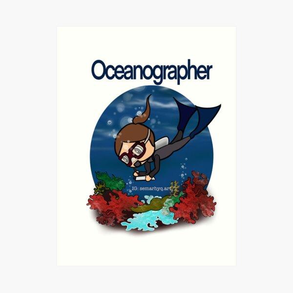 Oceanographer Art Print