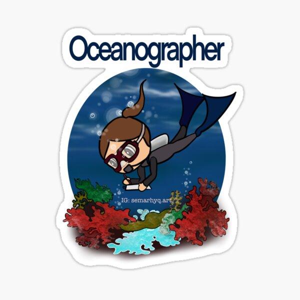 Oceanographer Sticker
