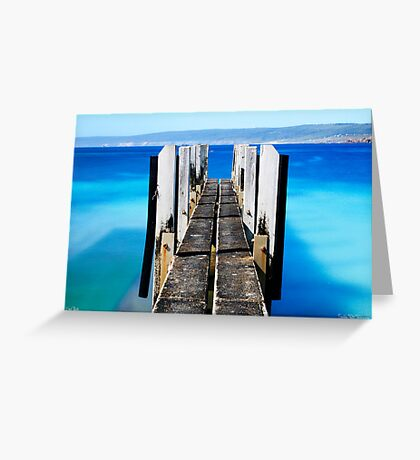 Canal Rocks Boat Ramp Greeting Card