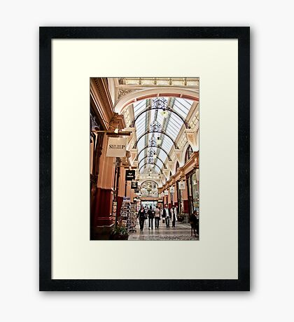 The Block Arcade, Melbourne Framed Print