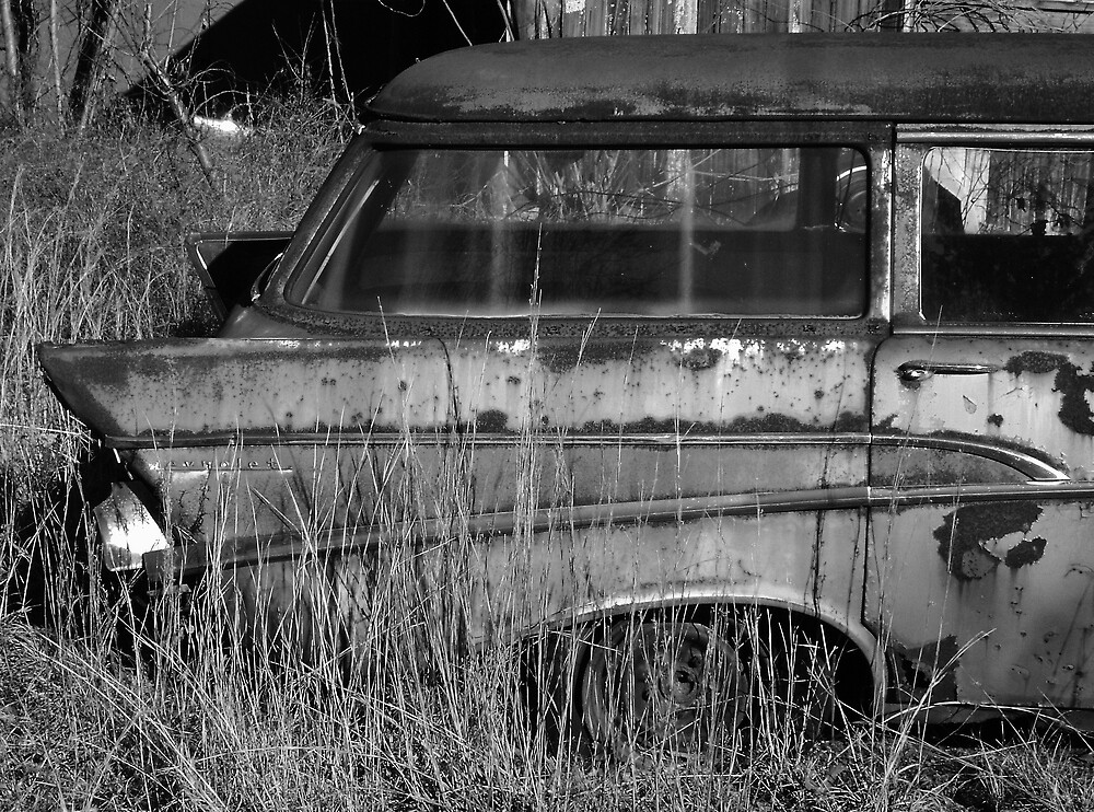 57 Chevy Wagon by Harlan Mayor