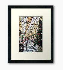 The Royal Arcade, Melbourne Framed Print
