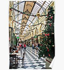 The Royal Arcade, Melbourne Poster