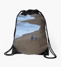 Bells Beach Drawstring Bag