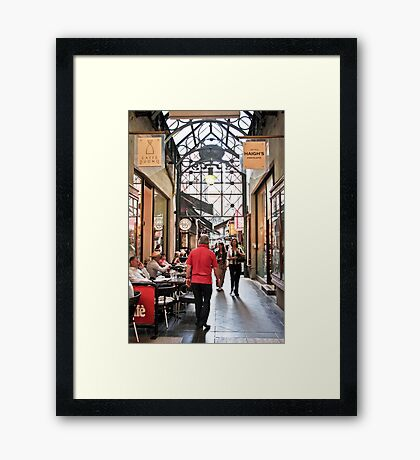Block Place, Melbourne Framed Print