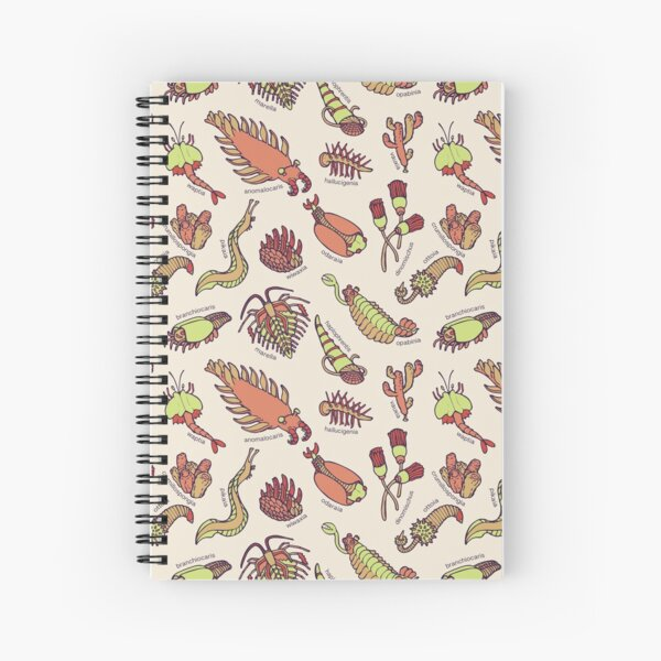 Cambrian Critters Spiral Notebook