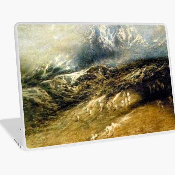 #Mountains #Landscape, #Outdoors, #Tawlula, Panoramic, Weather Laptop Skin