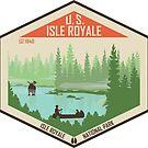 Isle Royale Nationalpark von moosewop