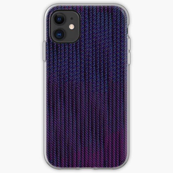 Abstract Dystopian Cyberpunk Pattern iPhone Soft Case