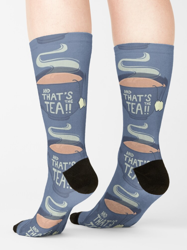 Alternate view of And That's the Tea!! Socks