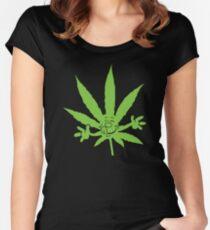 Marijuana Munchies Women's Fitted Scoop T-Shirt