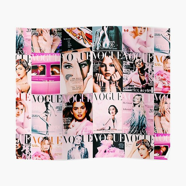 Vogue Posters Redbubble