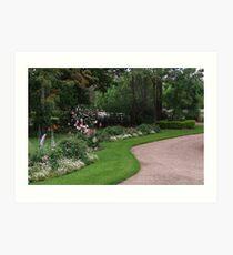 Rosalee Cottage Garden! Art Print