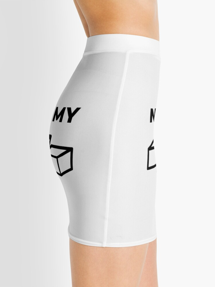 Alternate view of Not My Fault (Inverted) Mini Skirt