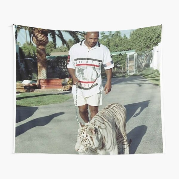 with tiger Tapestry