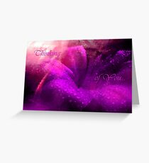 Thinking of You... Card. Greeting Card