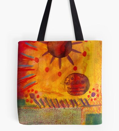 The Sun Shines on US the Same Tote Bag