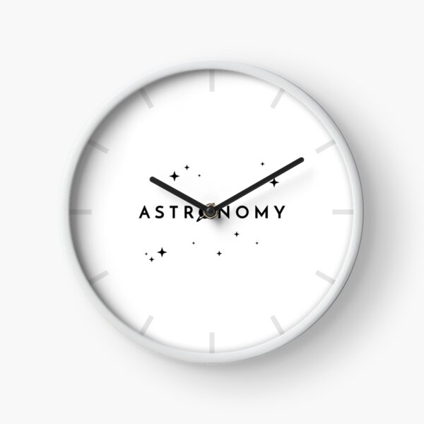 Astronomy (Inverted) Clock