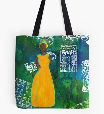 As Sweet As An Angel Tote Bag