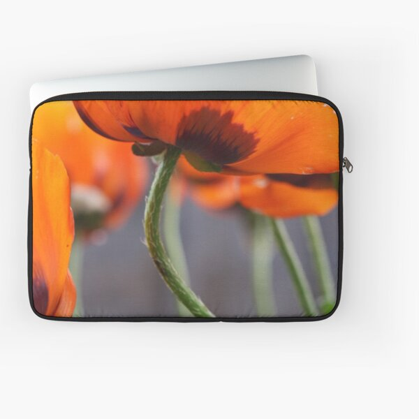 Surprise Cluster of Poppies Laptop Sleeve