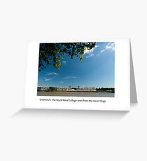 UK - Greenwich Royal Naval College Greeting Card
