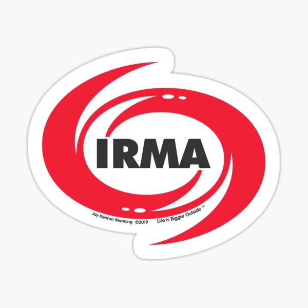 Irma Hurricane Sticker- Weatherproof! Sticker