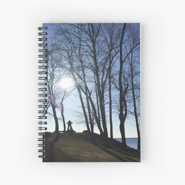 Finding My Way Home Spiral Notebook