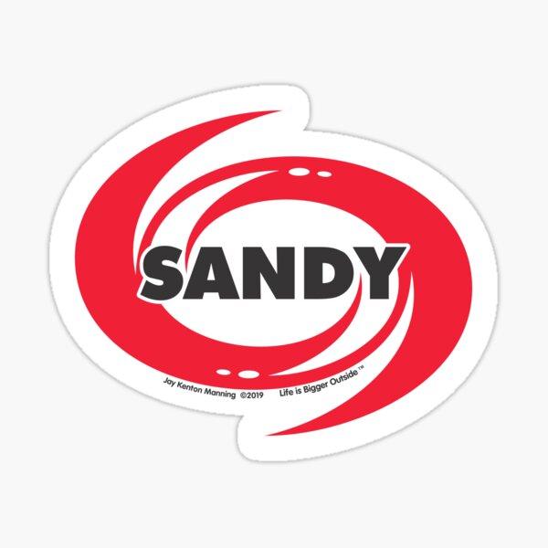 Sandy Hurricane Sticker- Weatherproof! Sticker
