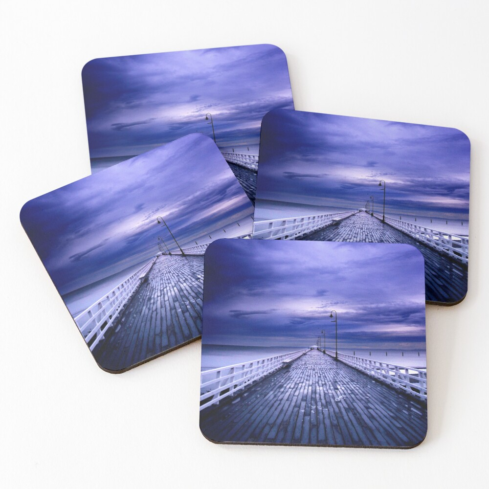 Approaching Storm Coasters (Set of 4)