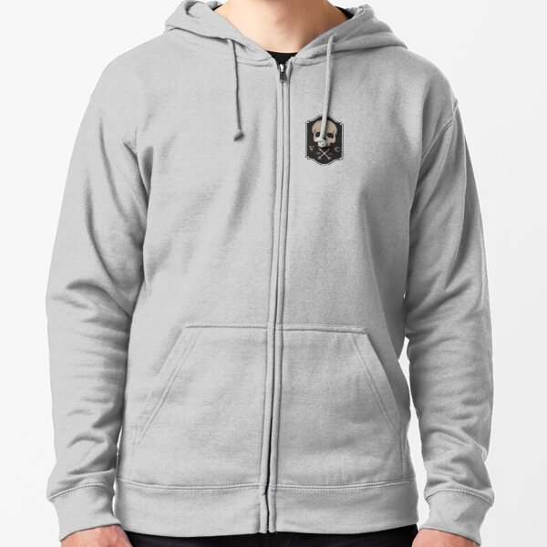 Volition Cycling Logo Zipped Hoodie