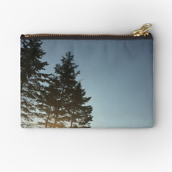 Chill of a Pine Sunset Zipper Pouch