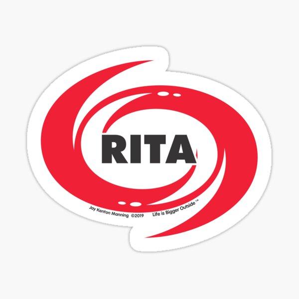 Rita Hurricane Sticker- Weatherproof! Sticker