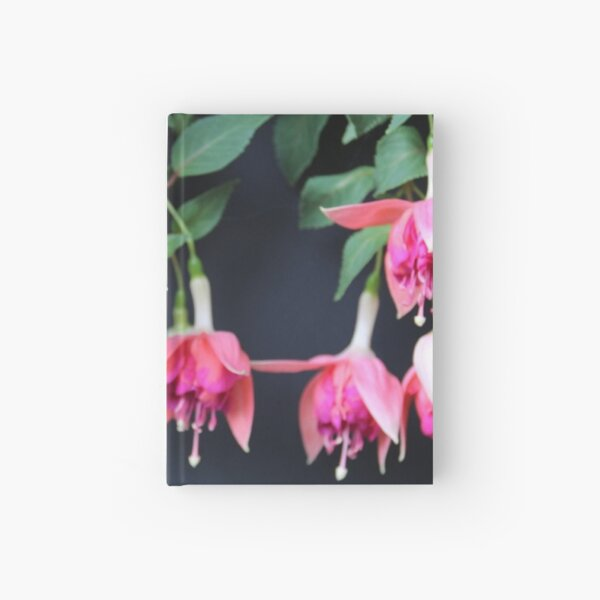 Hanging with the Fuschia Hardcover Journal