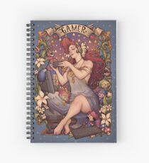 Gamer girl Nouveau Spiral Notebook