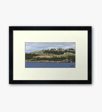 Iona, Nova Scotia Framed Print