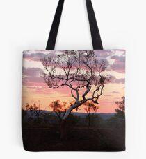Sunset Karijini National park Tote Bag
