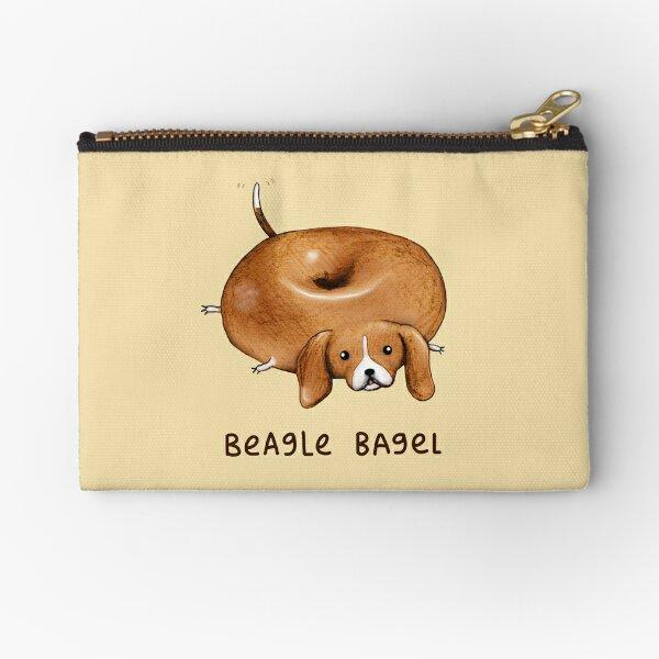 Beagle Bagel Zipper Pouch