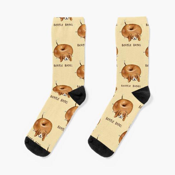 Beagle Bagel Socks