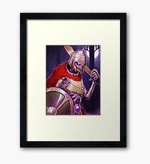 Skarkh The Undead Warrior Framed Print